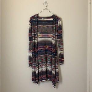 BKE Sweaters - BKE Hooded Cardigan Size XS
